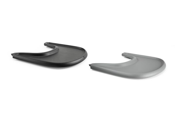 Stokke®Tray (tafelblad) zwart en grijs