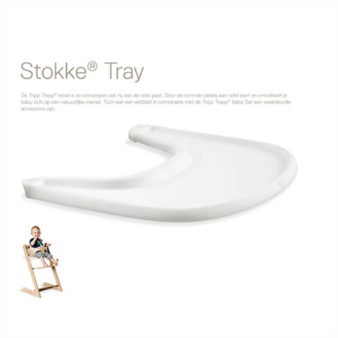 Stokke® Tripp Trapp® met tray