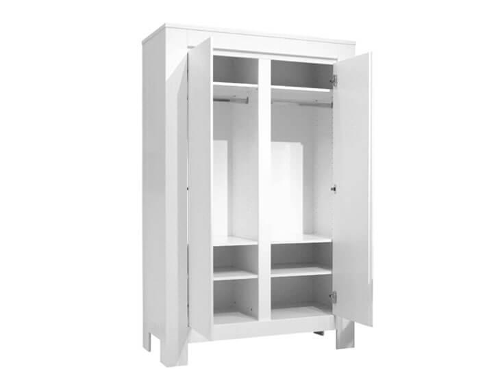 Bopita Bianco 2-deurskast indeling