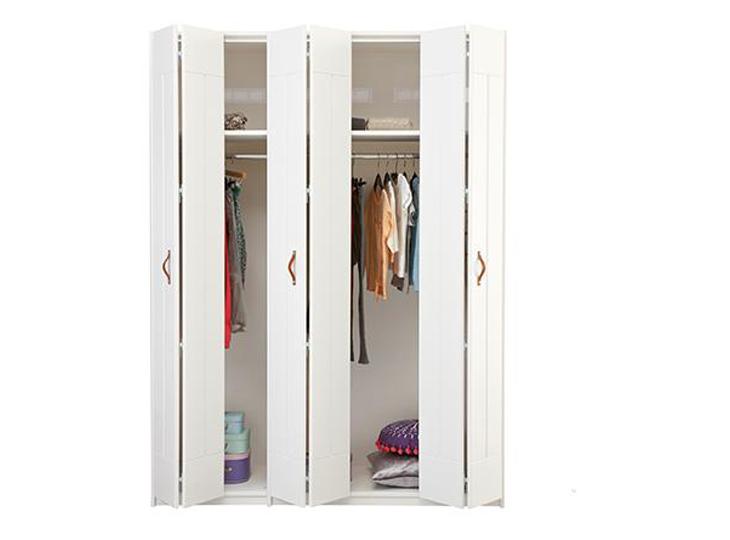 Lifetime 3-deurkast met vouwdeuren