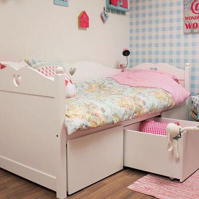 Emma bedbank met 3 lades