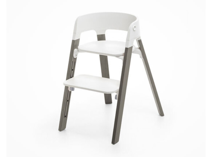 Stokke® Steps™ kinderstoel Wit Hazy Grey