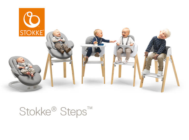stokke steps kinderstoel kidsroom. Black Bedroom Furniture Sets. Home Design Ideas