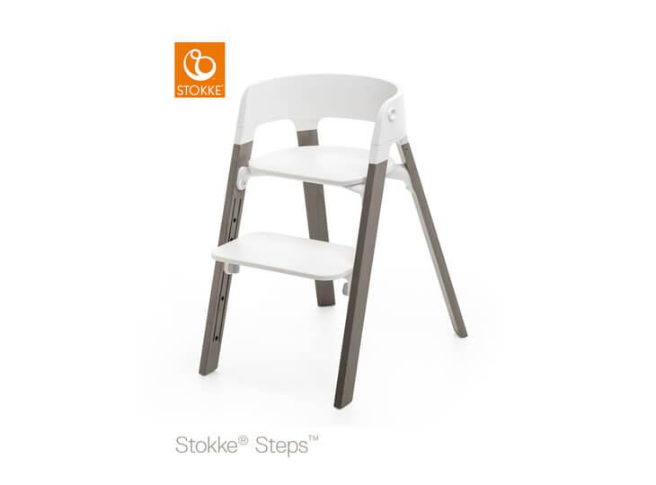 Stokke® Steps™ kinderstoel Hazy Grey