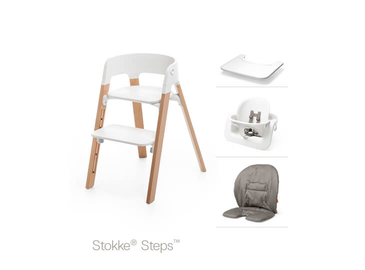 Stokke® Steps™ accessoires: eetblad | verkleiner | kussen