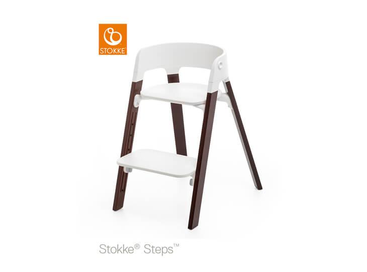 Stokke® Steps™ kinderstoel Walnut Brown