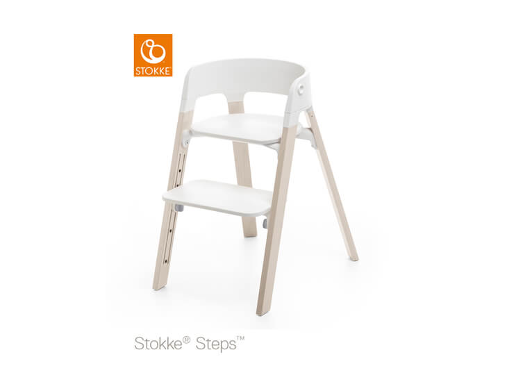 Stokke® Steps™ kinderstoel White wash