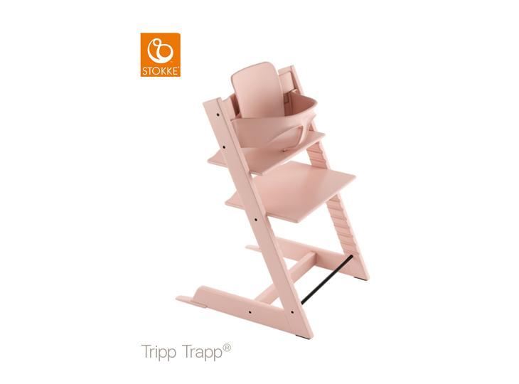 Stokke® Tripp Trapp® Pink met babyset