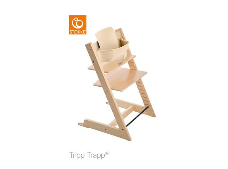 Stokke® Tripp Trapp® naturel met babyset