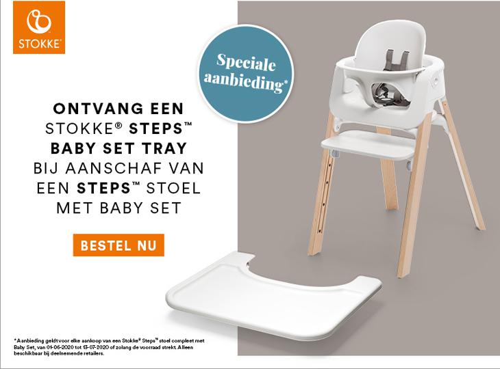 Stokke® Steps™ met gratis Tray