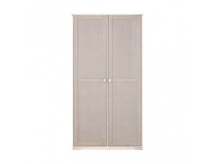 Lifetime 2 deurskast Greywash