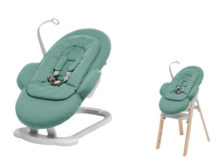Stokke® Steps™ wipstoel Cool Jade