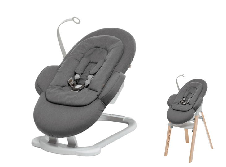 Stokke® Steps™ wipstoel Deep Grey