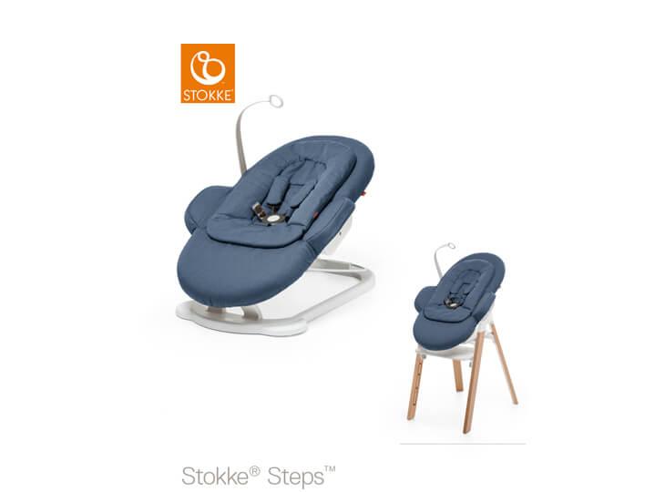 Stokke® Steps™ wipstoel Bleu (Bouncer)