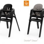 Stokke® Steps™ Black met babyset Black