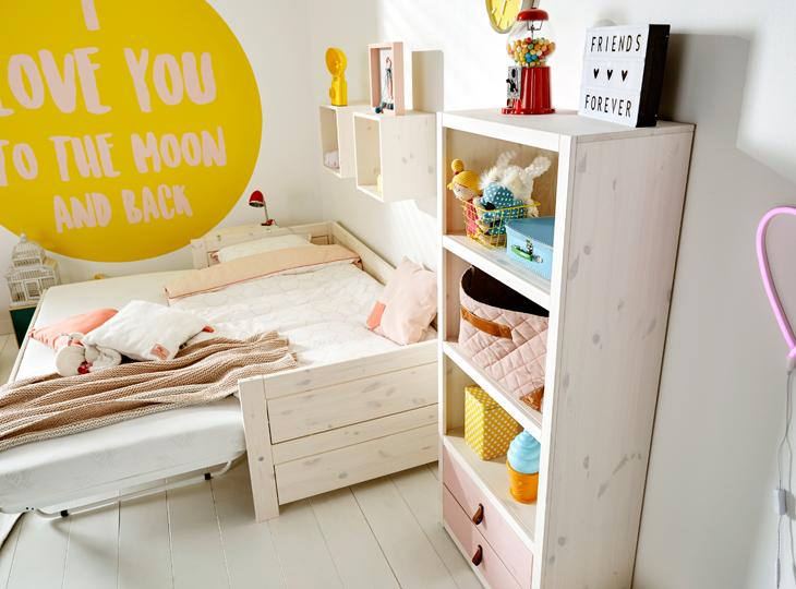 Lifetime bed met onderschuif bed (jump bed)
