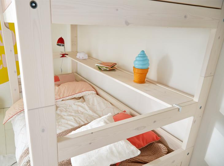 Stapelbed van lifetime kopen montage service kidsroom - Stapelbed met opslag trappen ...