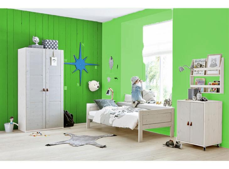 Lifetime greywash kamer sfeer Groen