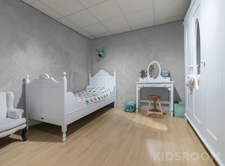 Romantic kinderkamer Grijs