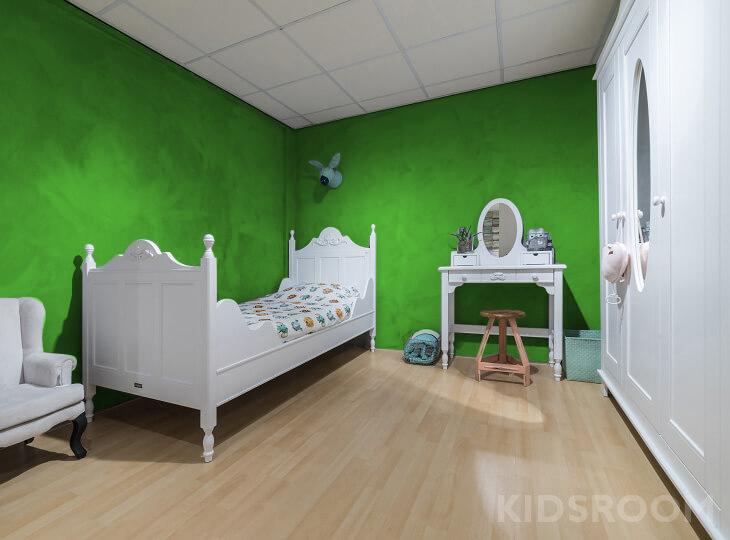Romantic kinderkamer Groen