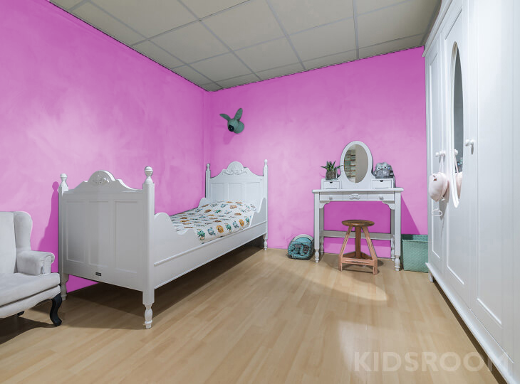 Romantic kinderkamer Oudroze