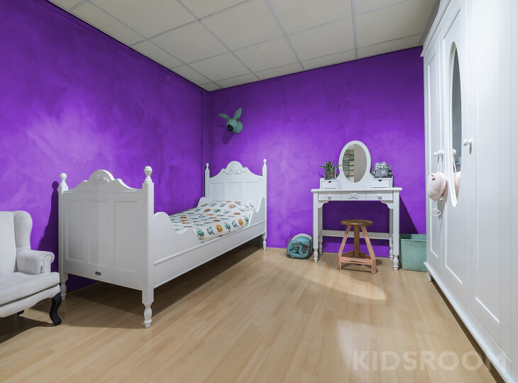 Romantic kinderkamer Paars