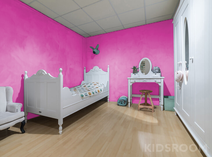 Romantic kinderkamer Roze