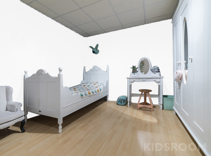 Romantic kinderkamer Wit