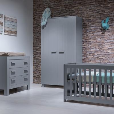 Babykamer Betongrey