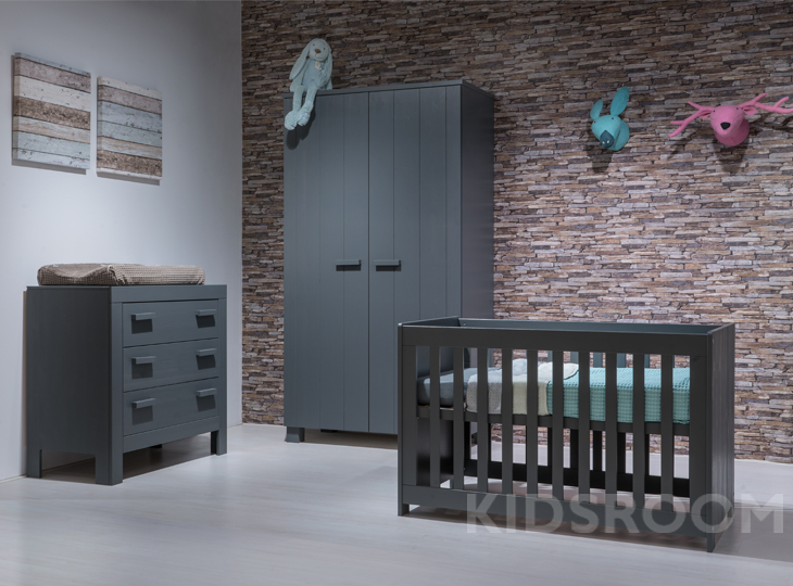 Babykamer Steel Grey