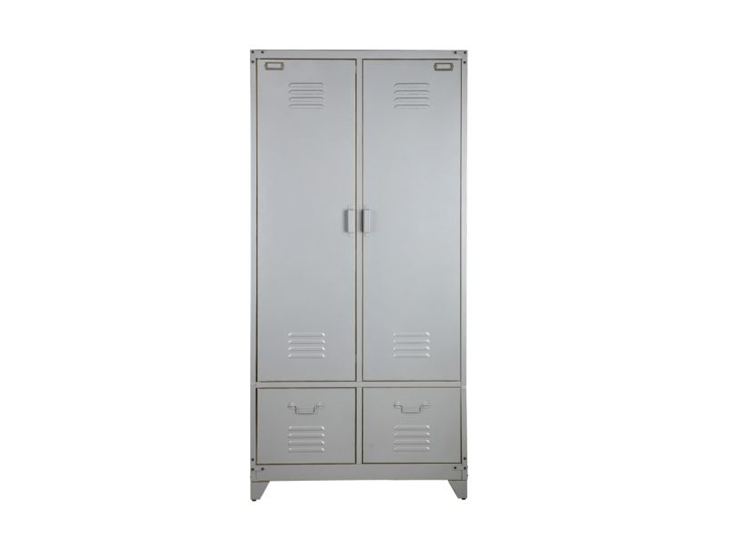 VT Wonen Safe Lockerkast metaal Zilver