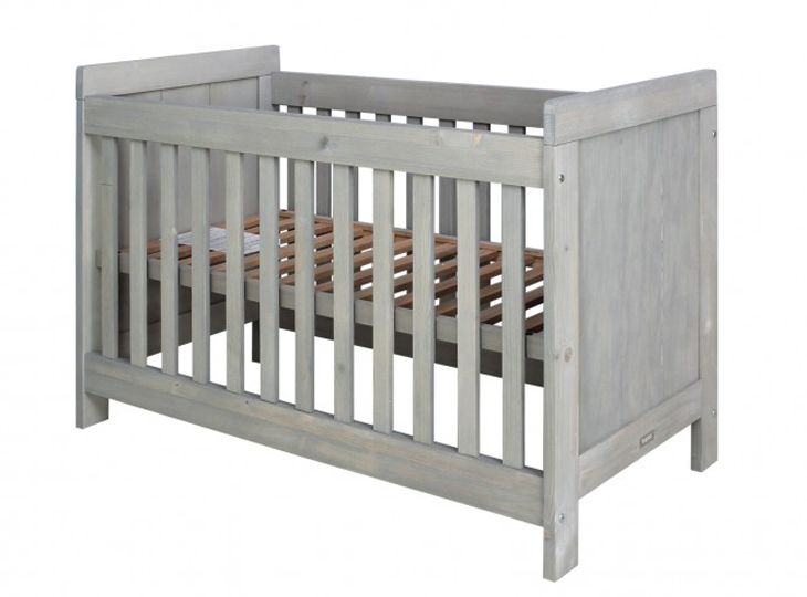 Bopita Basic wood bedje Grey wash