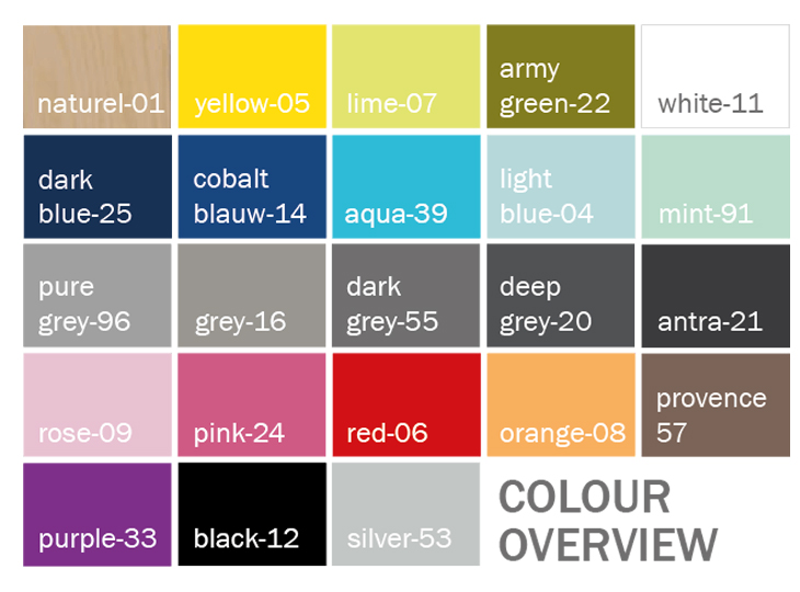 Mix & Match Kleuren
