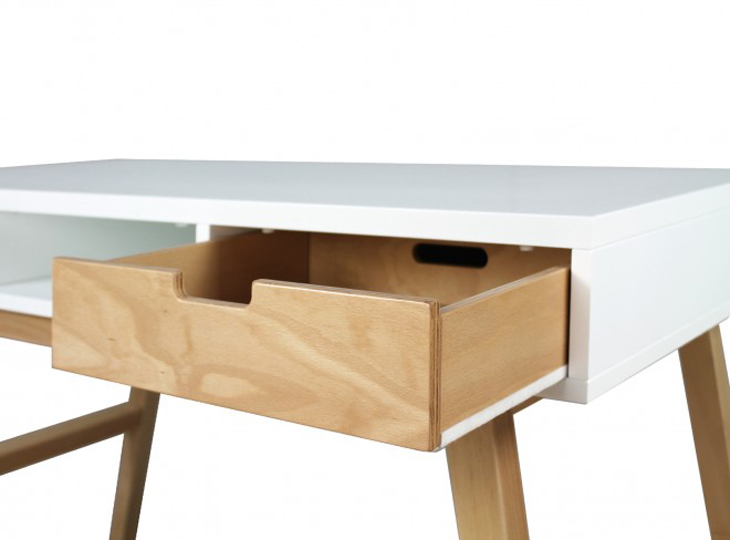 Lynn Bureau Wit/Naturel