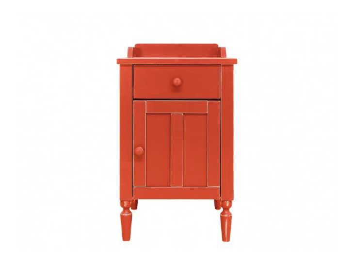 Bopita Country Nachtkastje Vintage Red