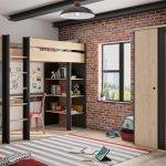 Tienerkamer Duplex met hoogslaper