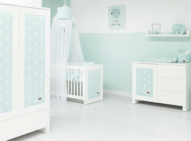 Babys Only babykamer Mint