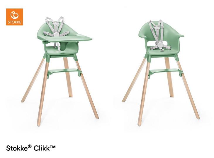 Stokke® Clikk kinderstoel Green