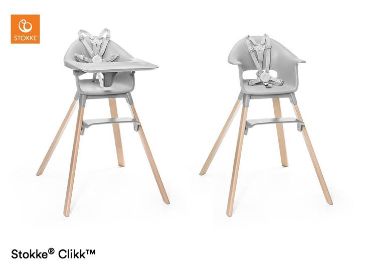 Stokke® Clikk kinderstoel Grey