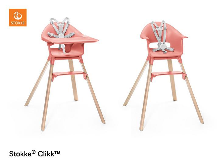 Stokke® Clikk kinderstoel Pink