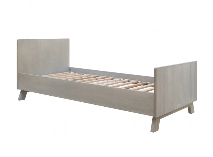 Bopita bed Pebble wood
