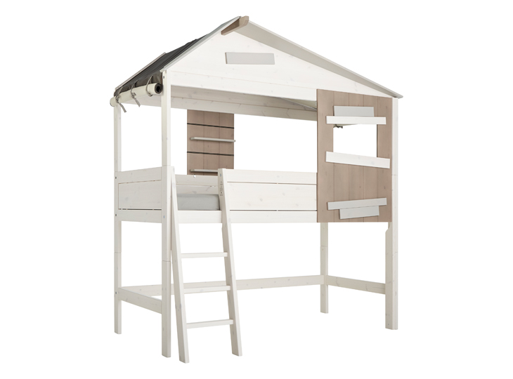 Lifetime hutbed halfhoog met ladder Hideout