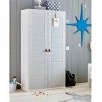 2-deurkast Greywash