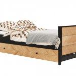 Job Bed met slaapopberglade