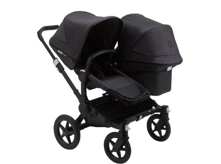 Bugaboo Donkey³ Duo Mineral Black Washed