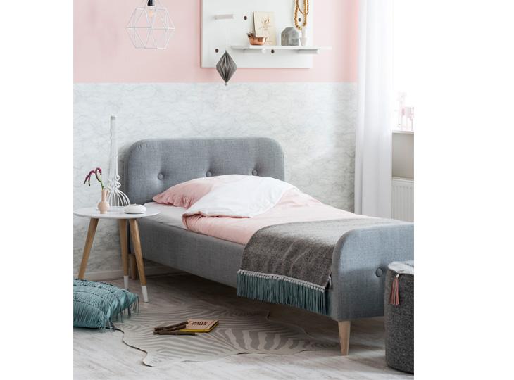 Gestoffeerd Bed Kate