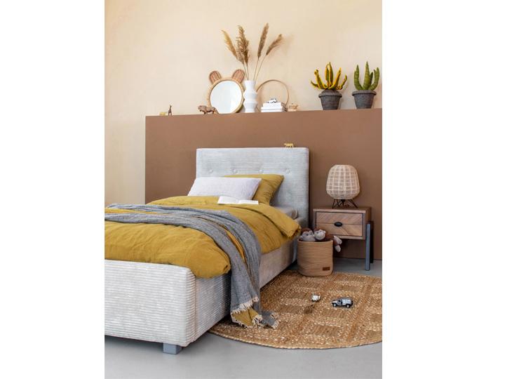 Gestoffeerd Bed Lima