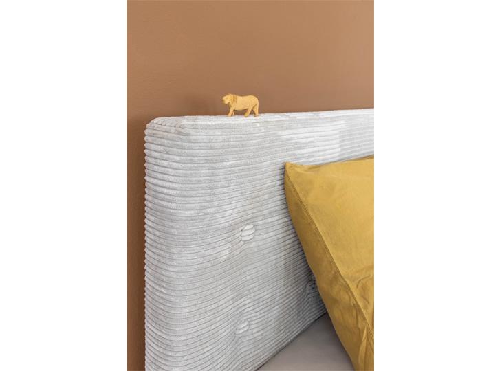 Gestoffeerd Bed Lima detail