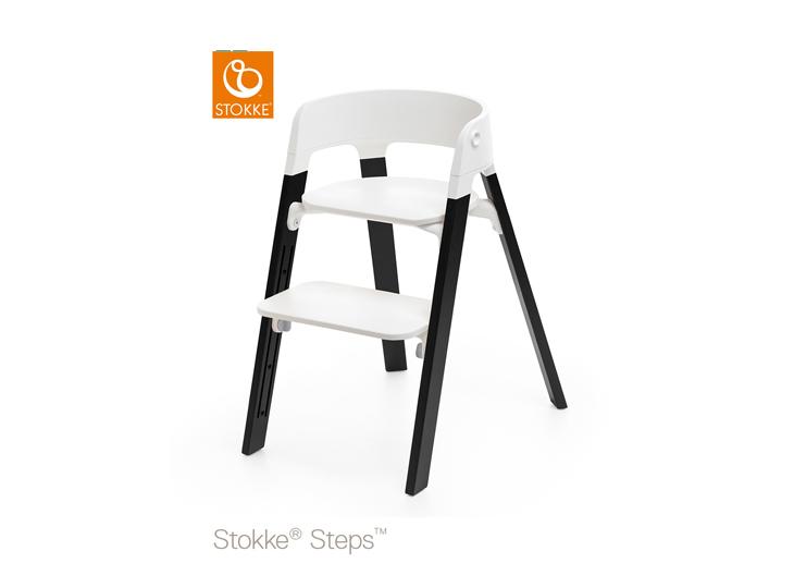 Stokke Steps White Oak Black