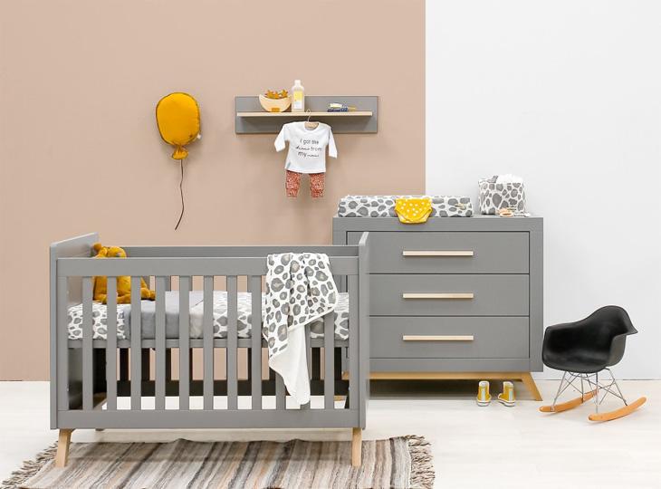 Babykamer Fenna Grey 2 delig